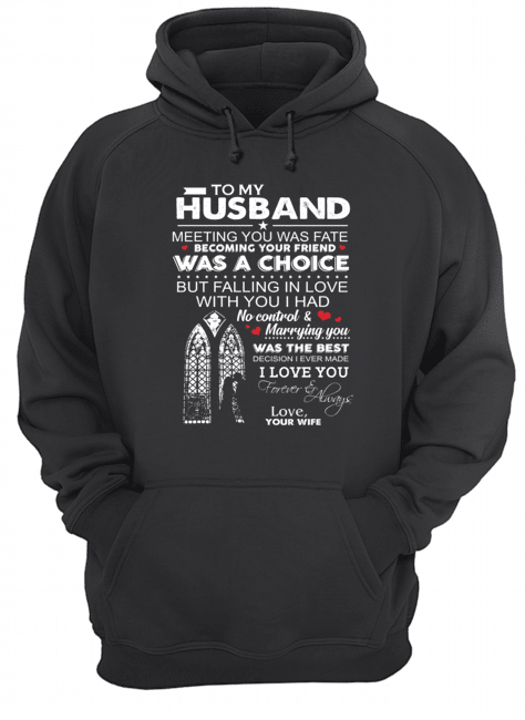 To my husband meeting you was fate becoming your friend was a choice mug 3