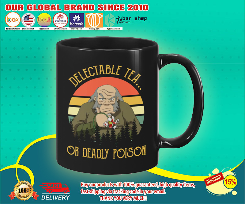 Uncle Iroh Delectable tea or deadly poison mug 19