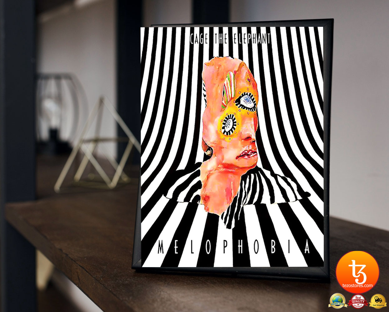 Cage the elephant melophobia poster 23