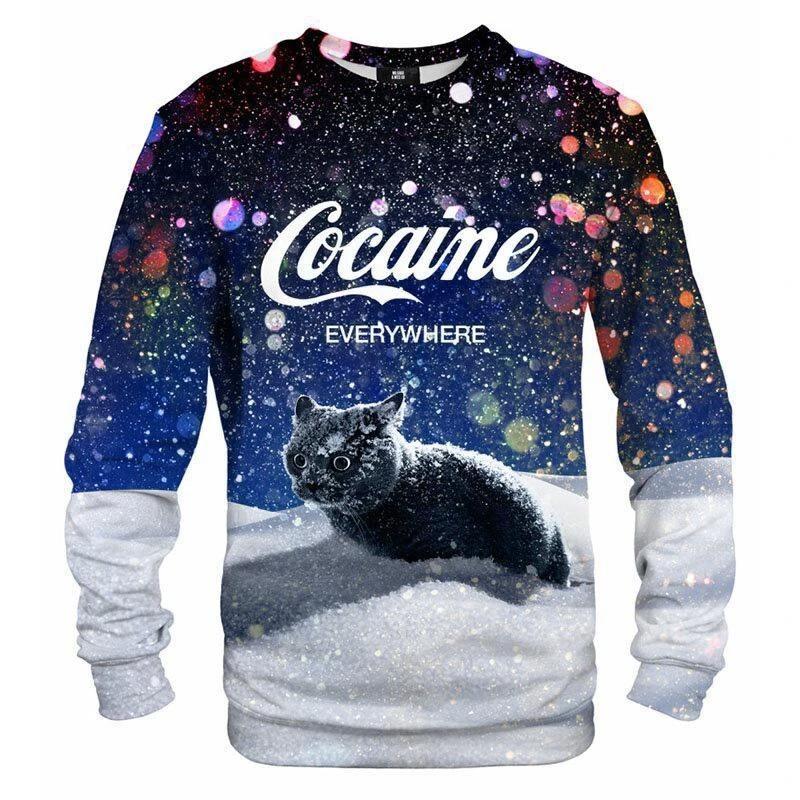 Cat snow cocaine everywhere shirt6