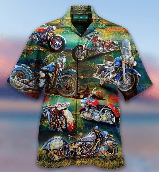 Freedom is a full tank motocycle hawaiian