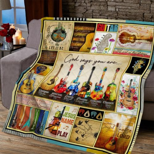 Guitar God says you are quiltGuitar God says you are quilt