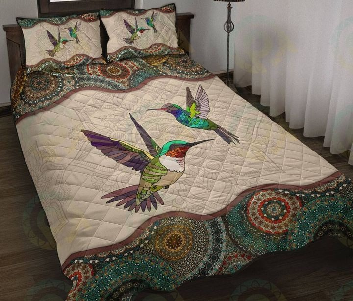 Humming bird bedding set