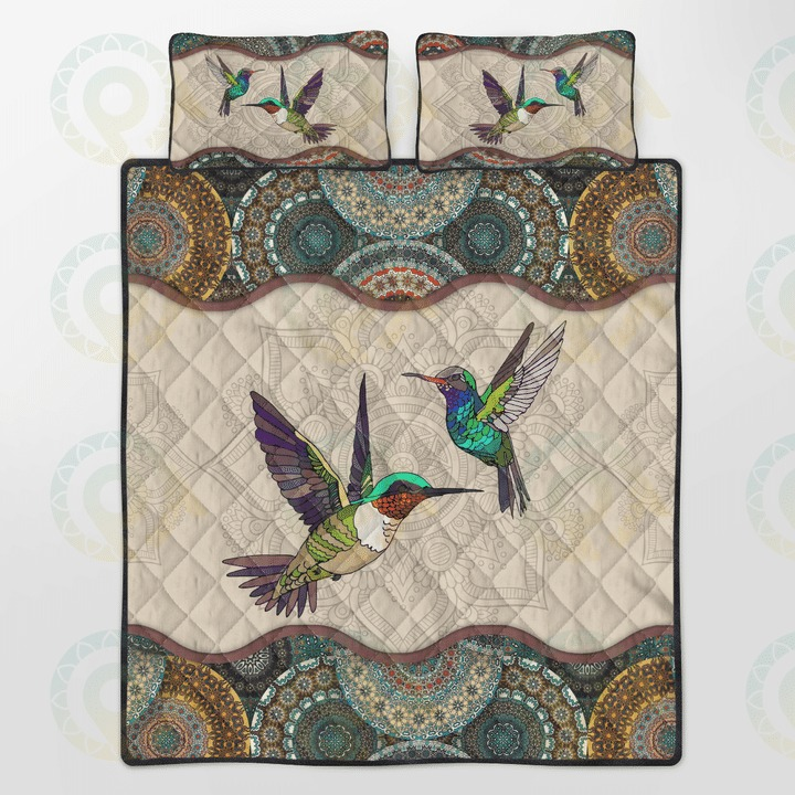 Humming bird bedding set4