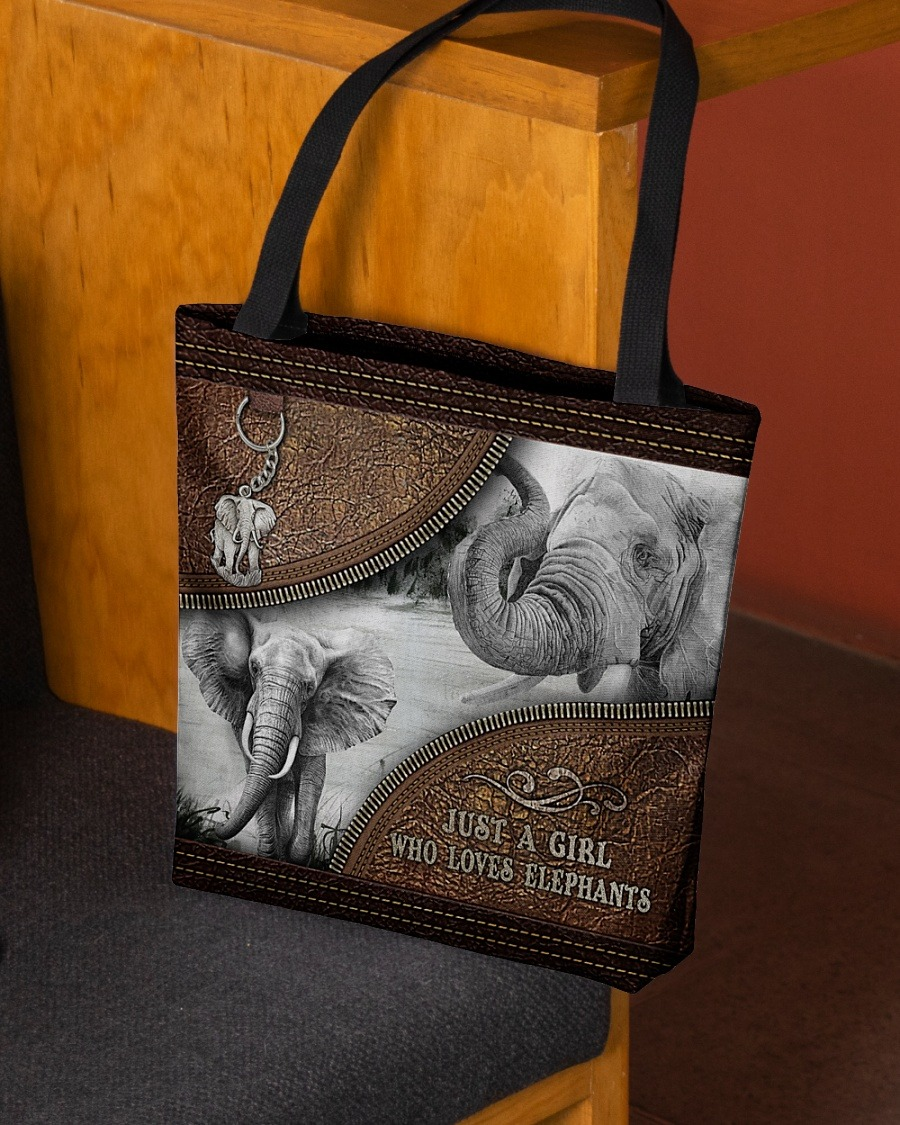 Just a girl who loves elephants tote bag4