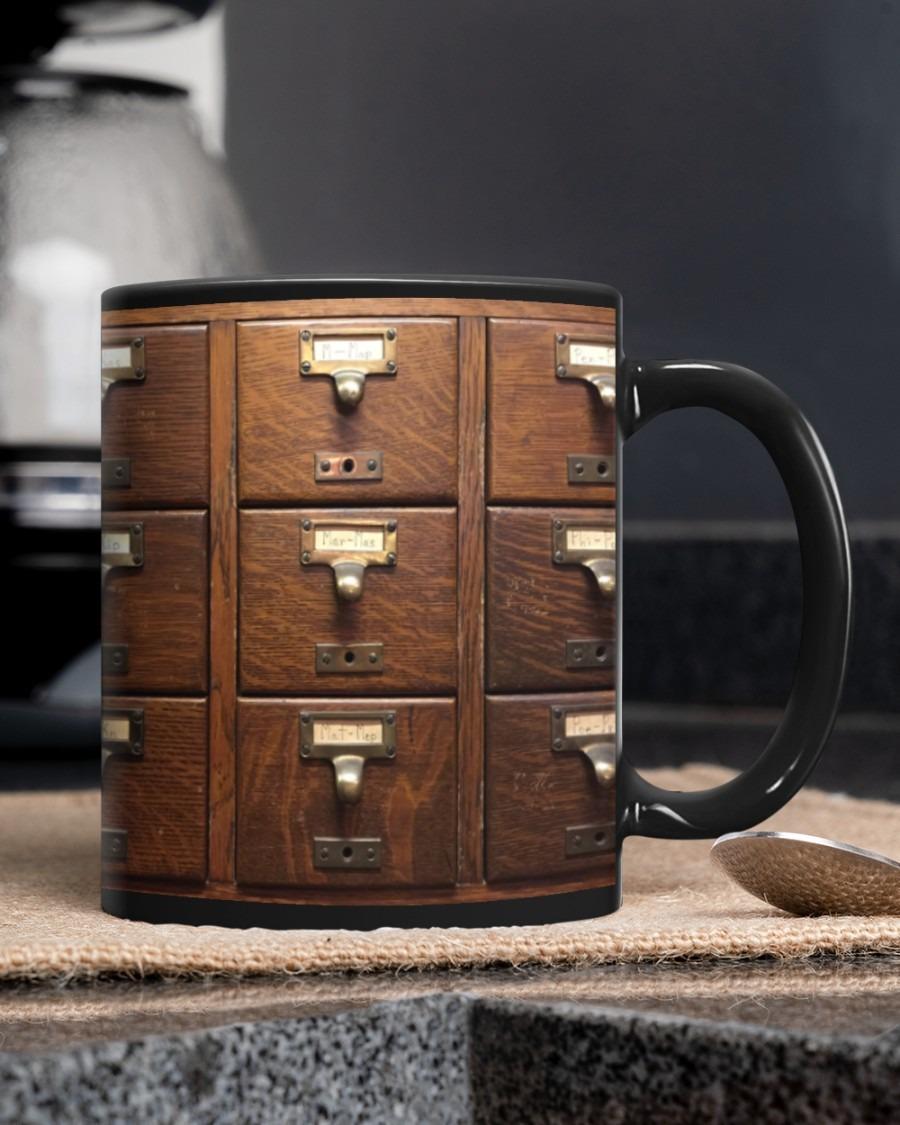 Librarian gift mug A3