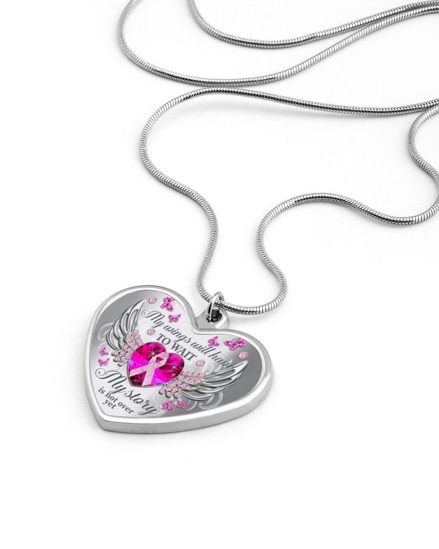My wings will have to wait my story is not over yet necklace4