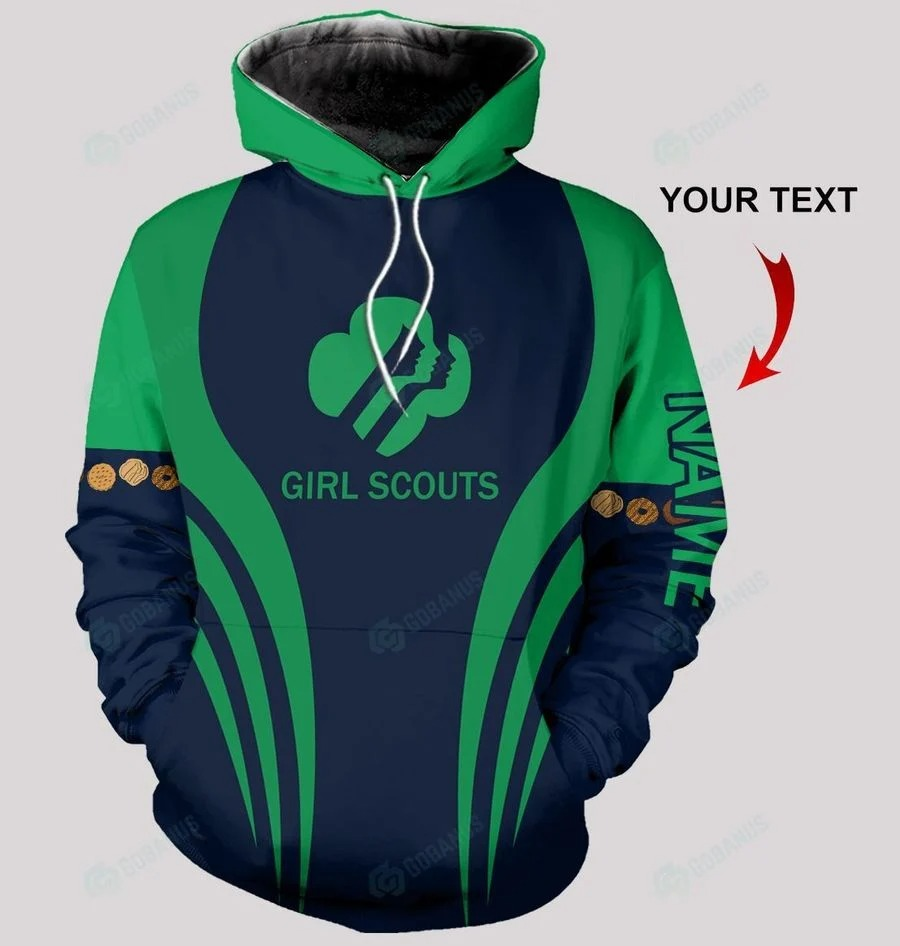 Personalized Girl Scouts 3d hoodie