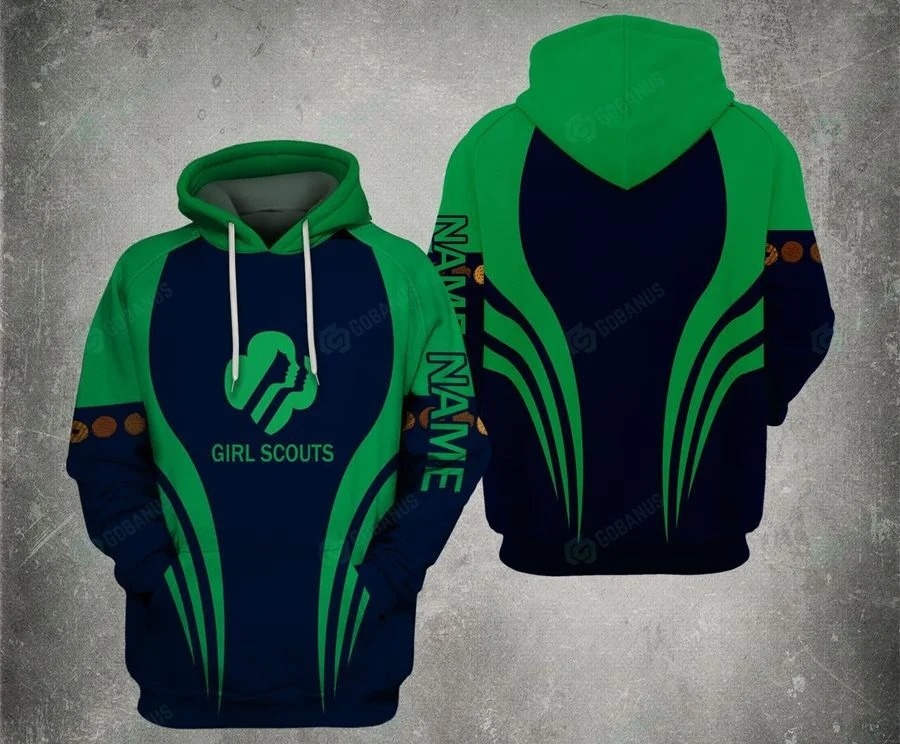Personalized Girl Scouts 3d hoodie4