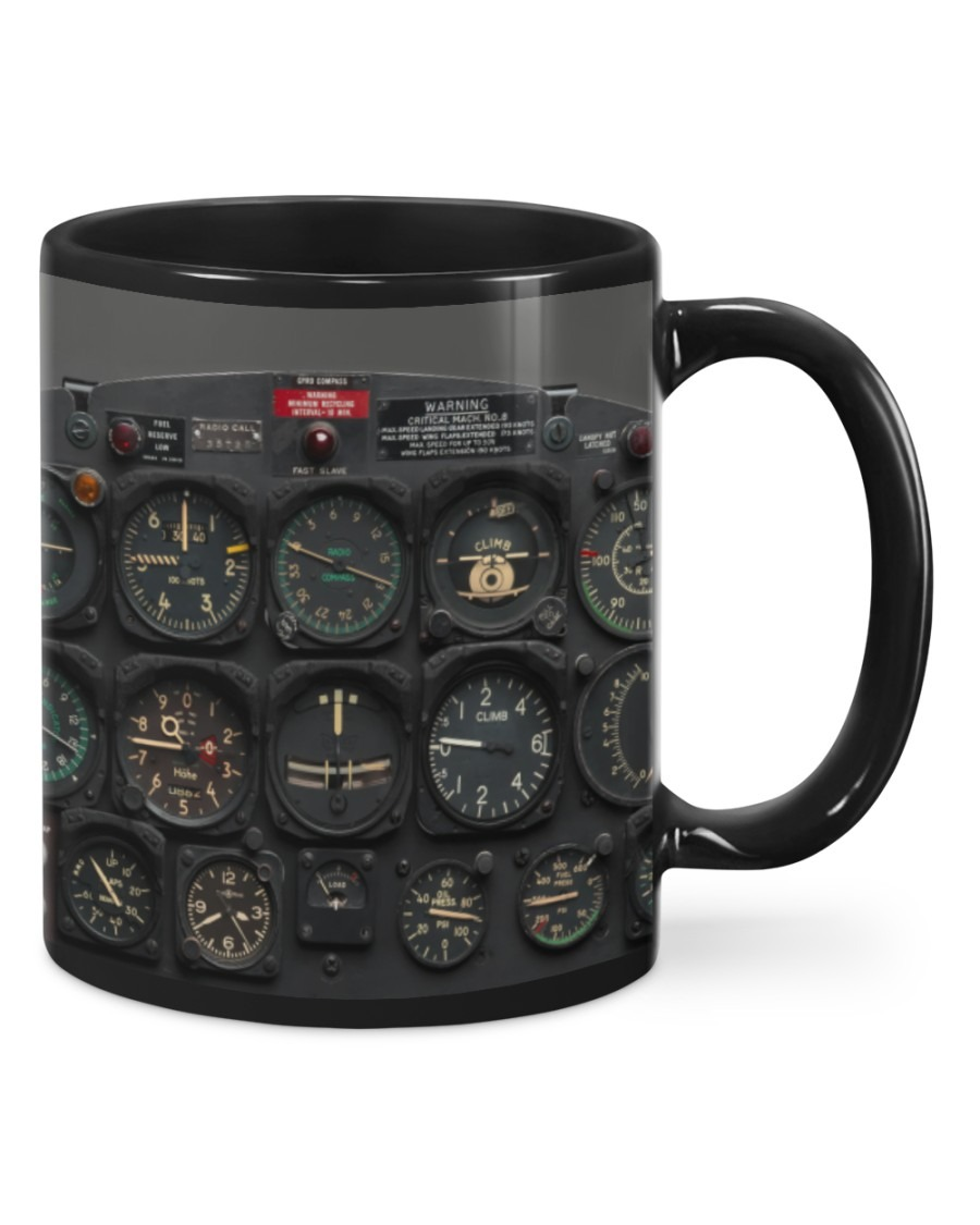 Pilot watch gift mug