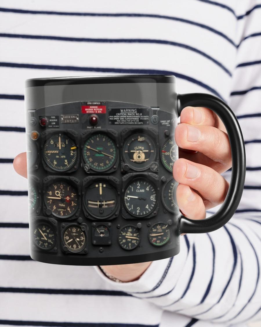 Pilot watch gift mug A4