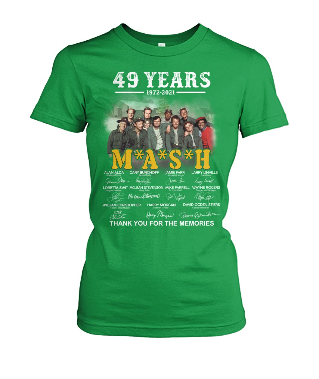 49 years 1972 2021 mash thank you for the memories Shirt 19
