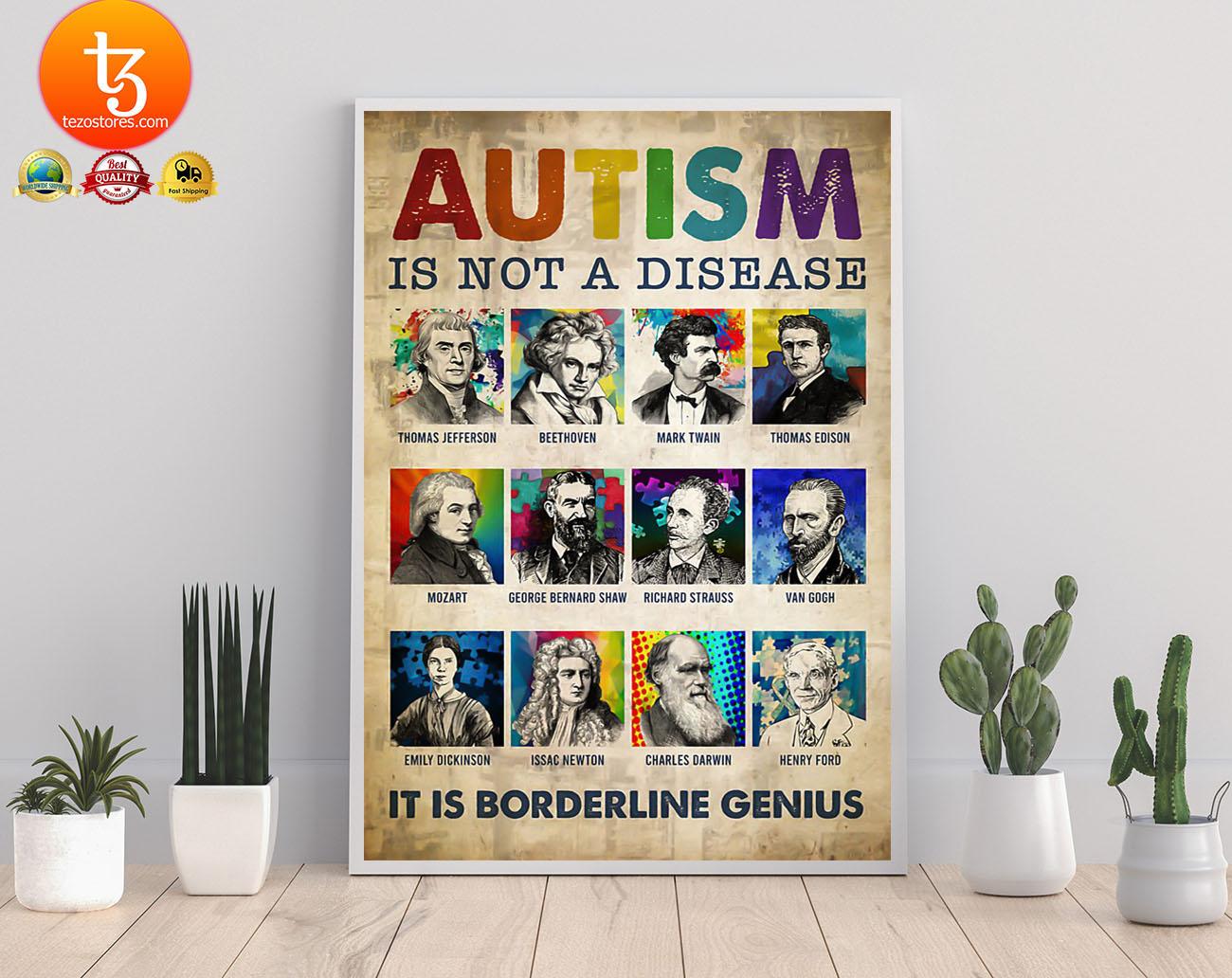 Autism is not a disease it is borderline genius poster 21