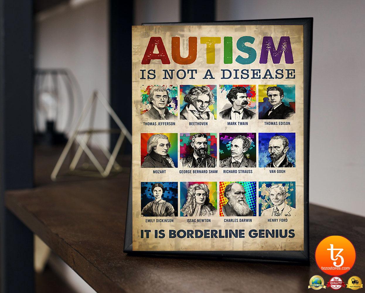 Autism is not a disease it is borderline genius poster 19