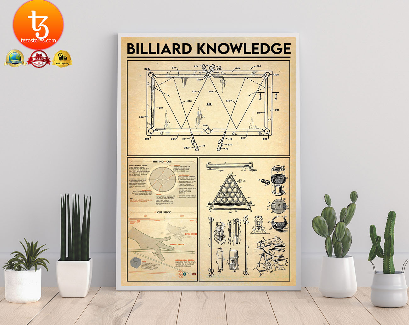Billiard knowledge poster 21