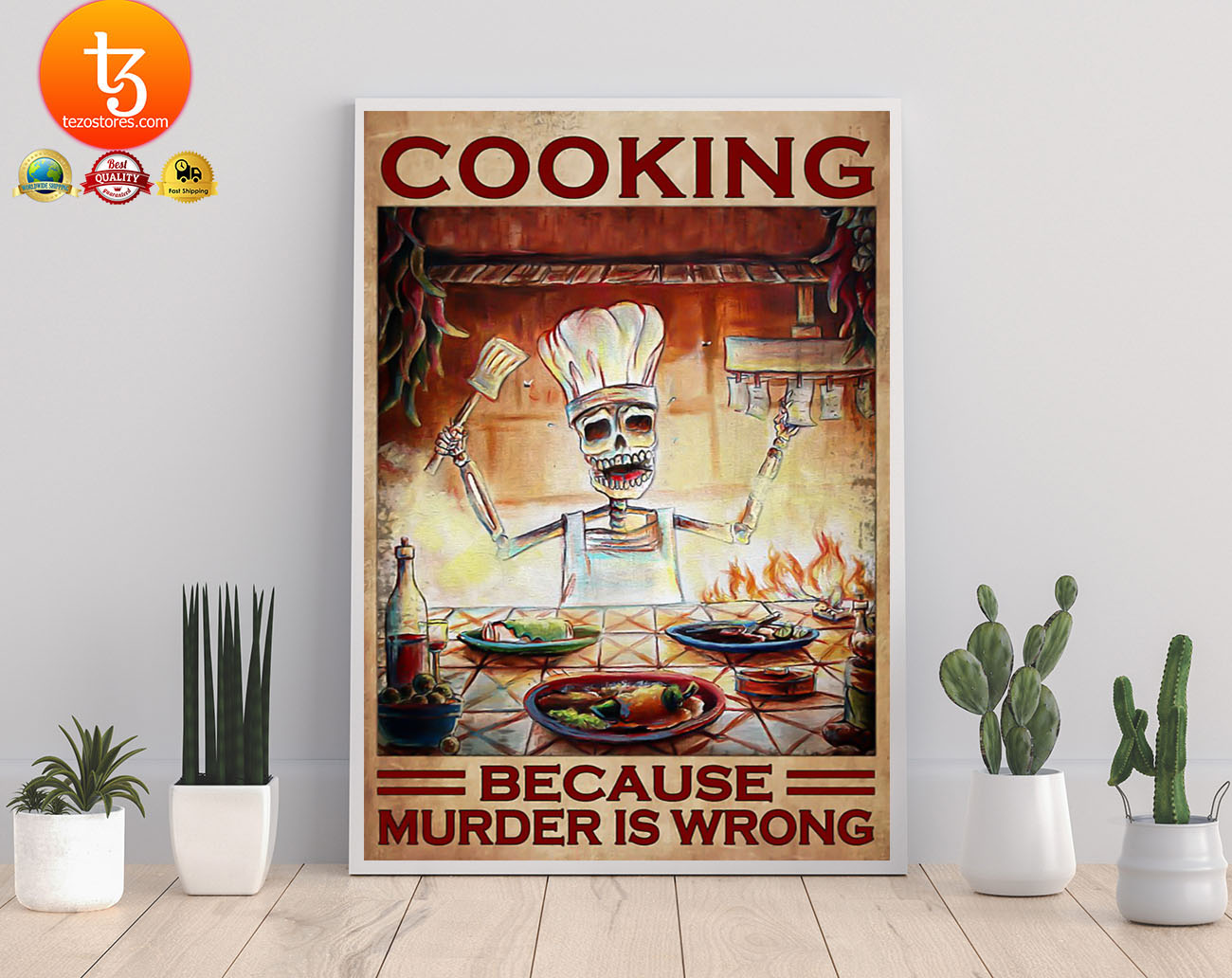 Cooking because murder is wrong poster 21