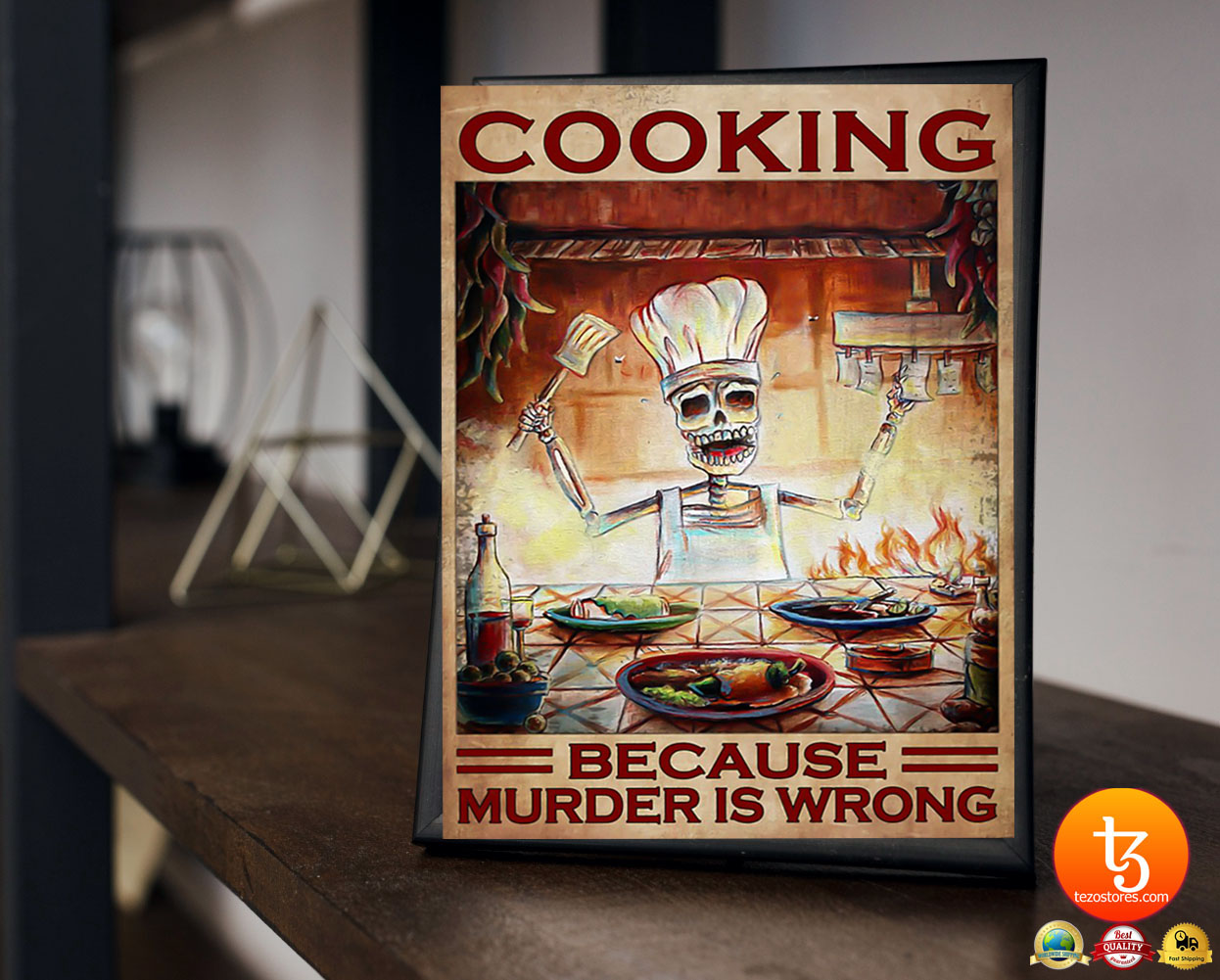 Cooking because murder is wrong poster 23