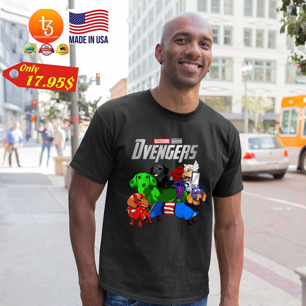 Dachsund Avengers Shirt 19