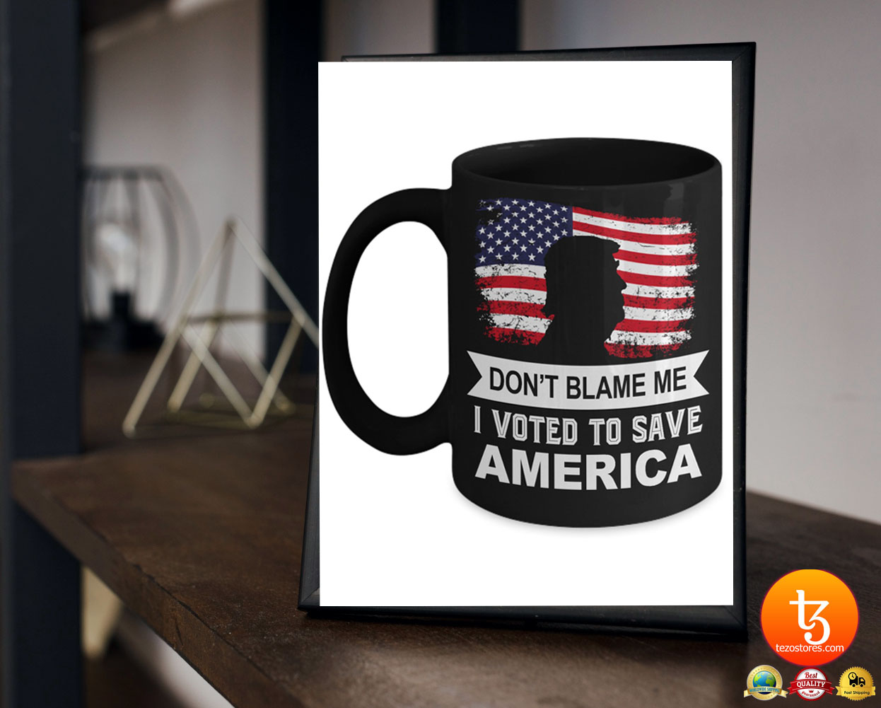 Donald Trump Don't blame me I voted to save america mug 23