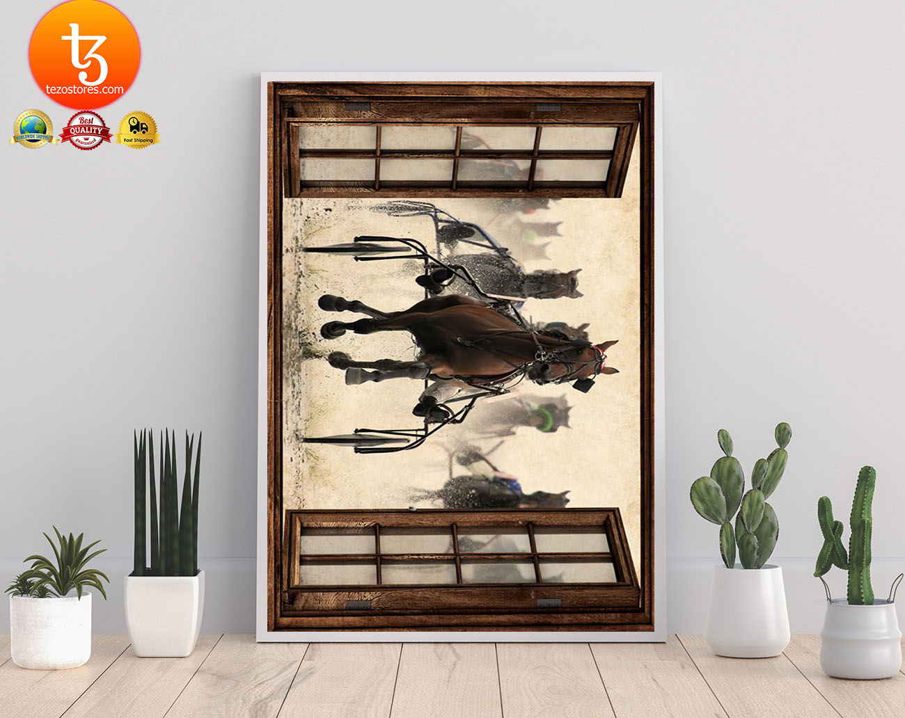 Harness racing view window poster 21