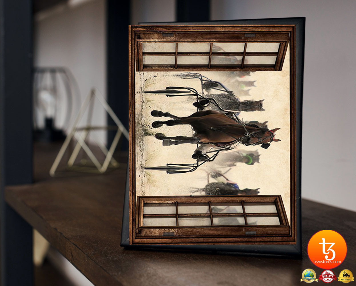 Harness racing view window poster 23