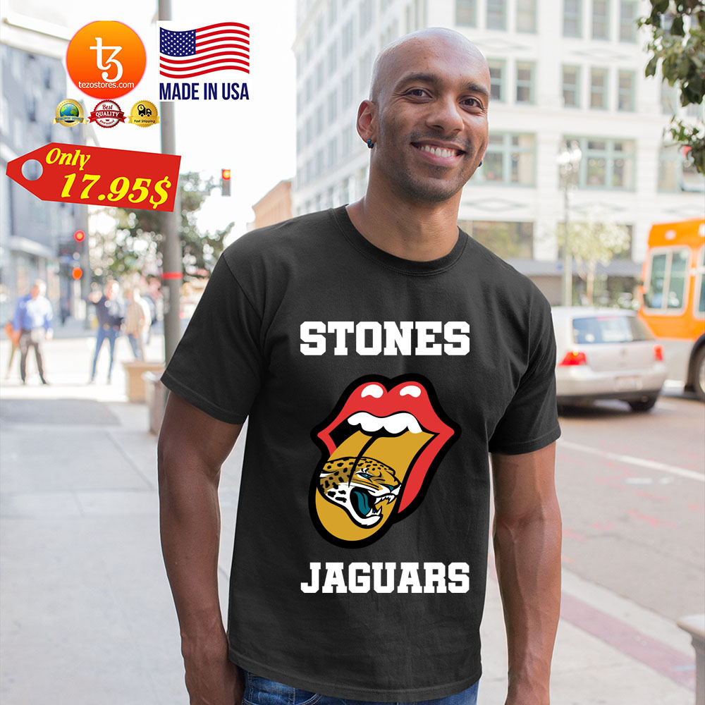 Jacksonville Jaguars Rolling Stones tongue shirt 23