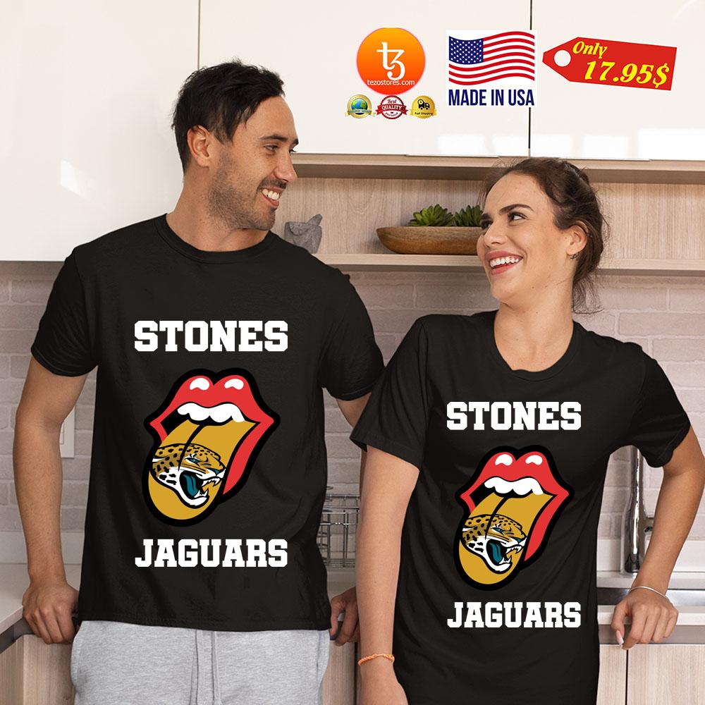 Jacksonville Jaguars Rolling Stones tongue shirt 21