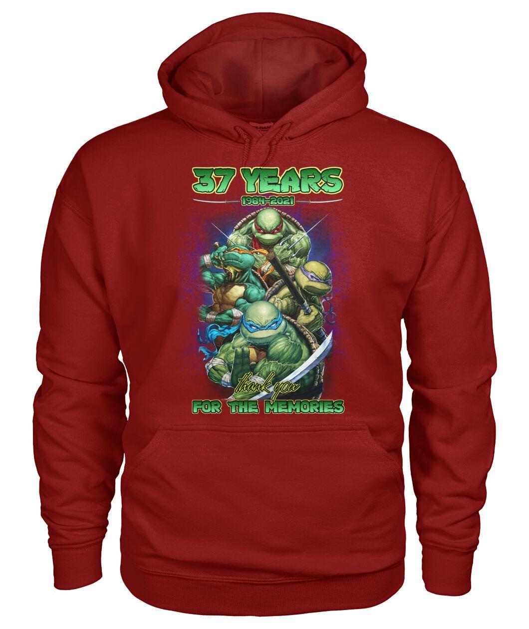 Ninja turtles 37 years 1984 2021 for the memories Shirt 19