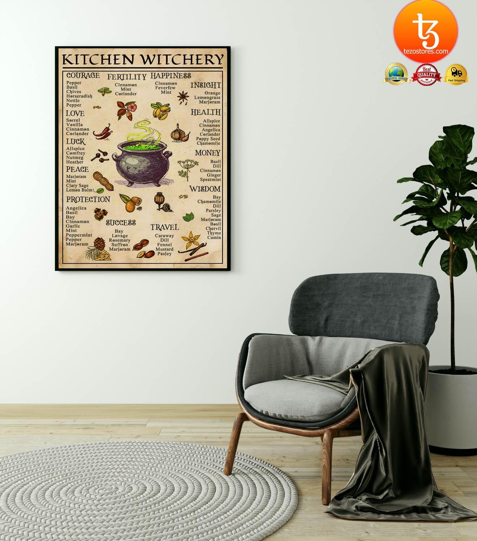 Kitchen witchery poster 19