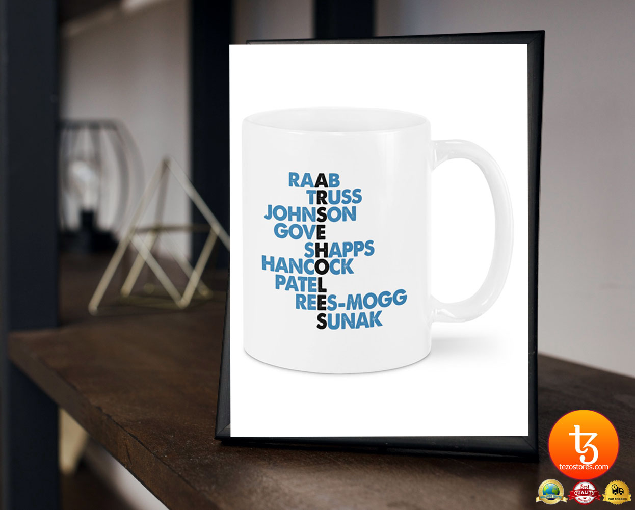 Raab truss johnson gove shapps mug