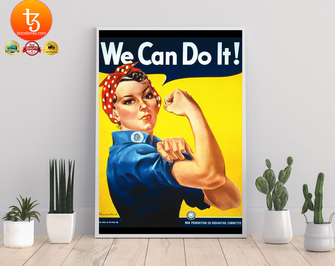 Rosie the Riveter we can do it poster 3