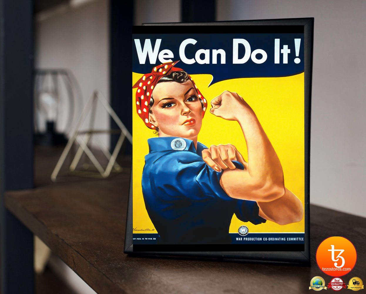 Rosie the Riveter we can do it poster 4