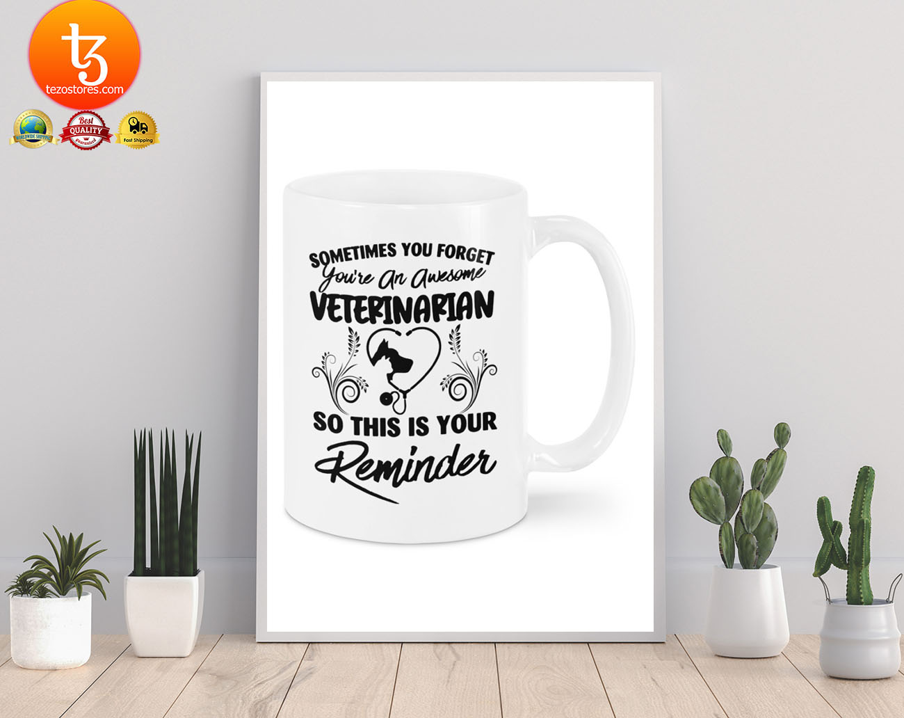Sometimes you forget you're an awesome veterinarian mug 19