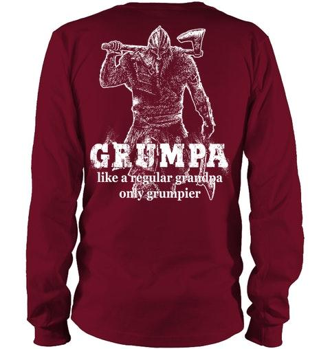 Grumpa like a regular grandpa only grumpier Shirt 3