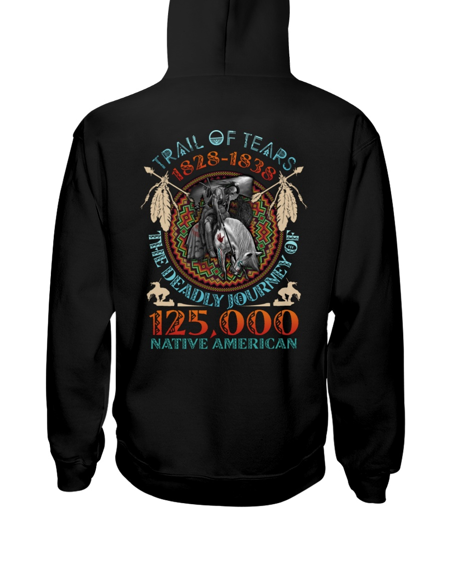 Trail of tears 1828 1838 the deadly journey of 125000 native american Shirt 21
