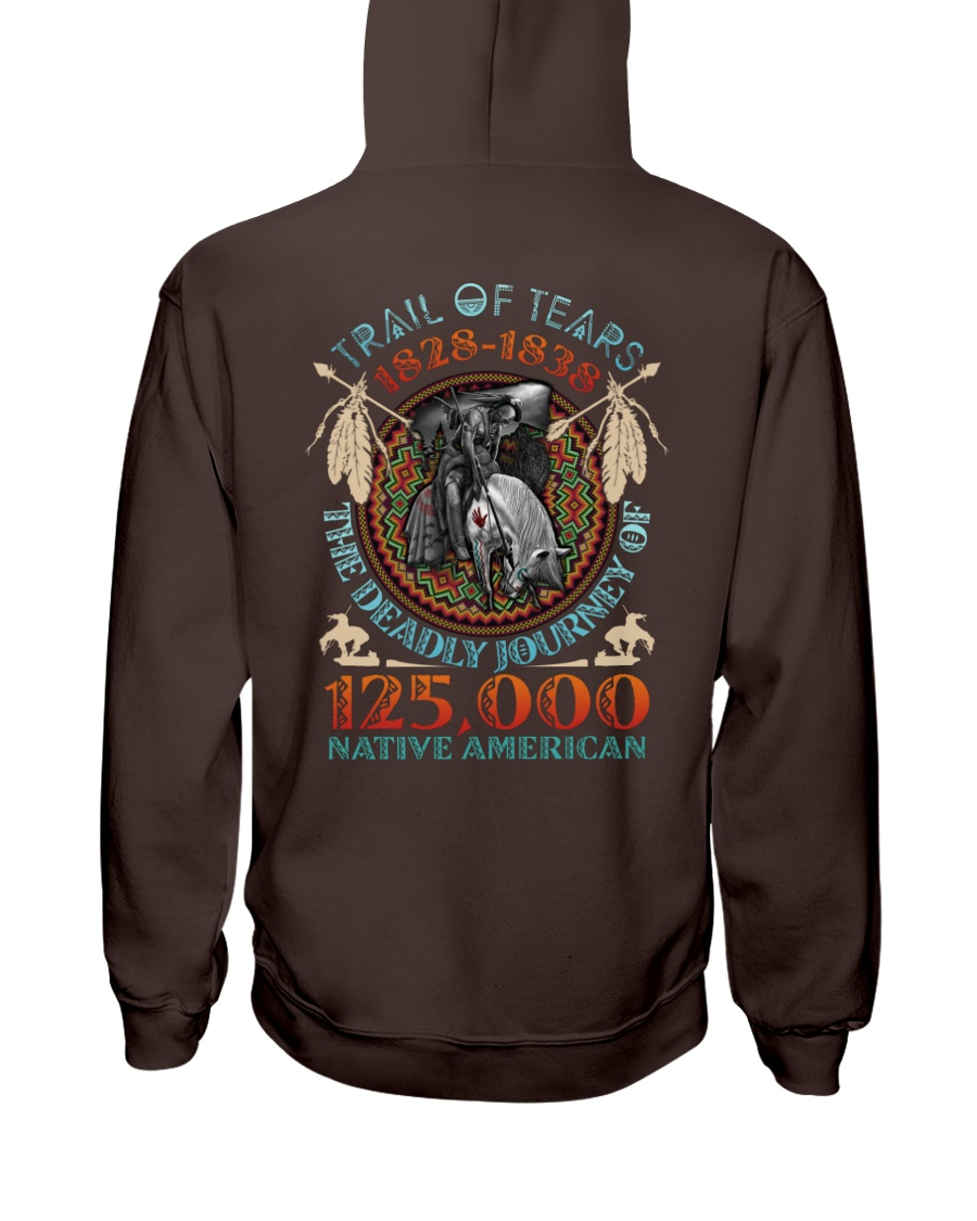 Trail of tears 1828 1838 the deadly journey of 125000 native american Shirt 23