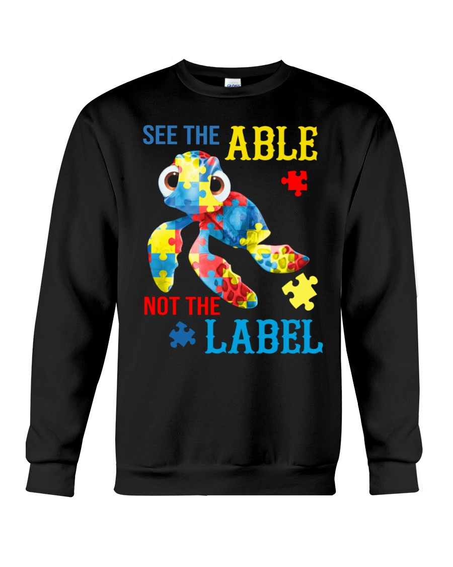 Autism Turtle See The Able Not The Label Shirt 23