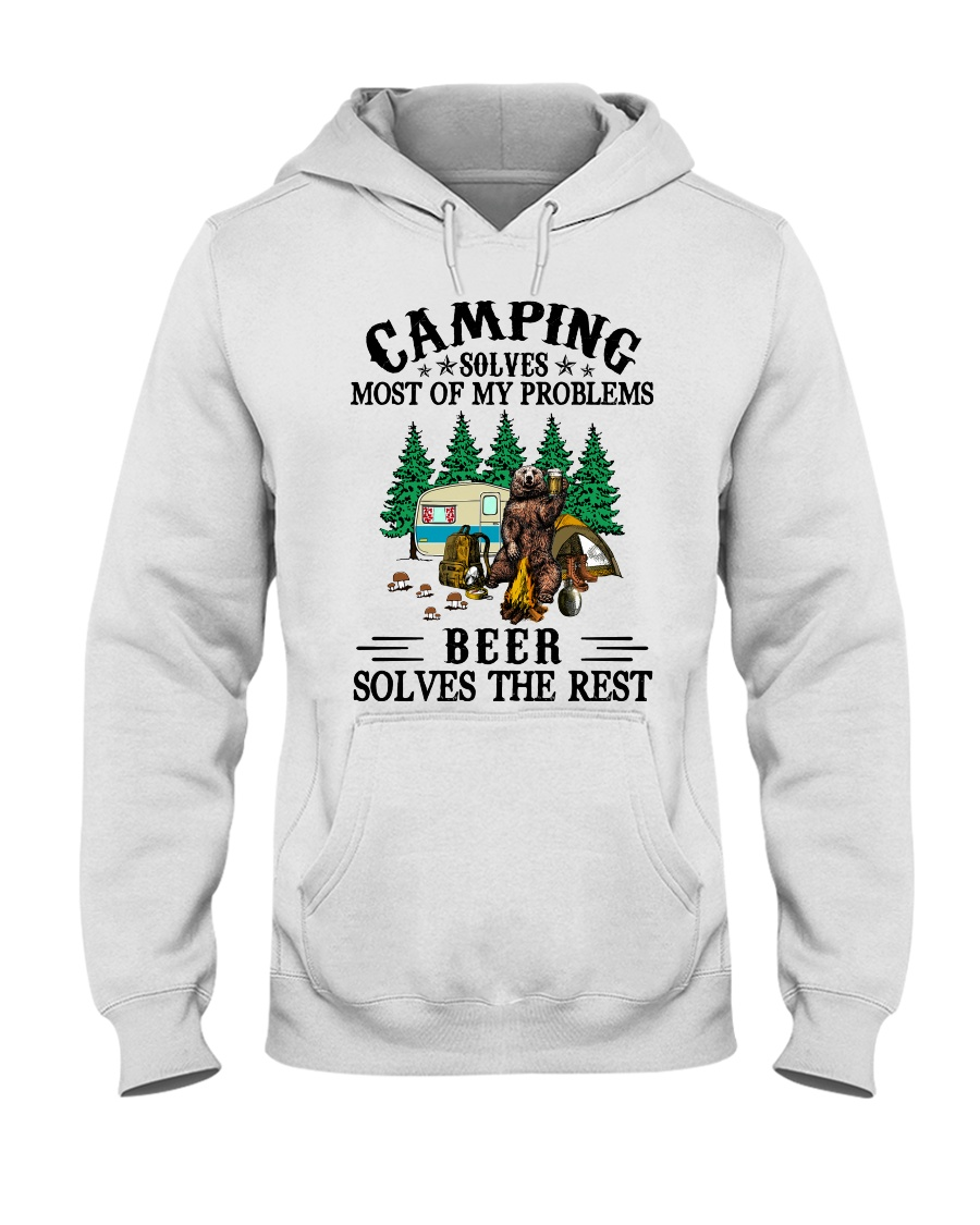 Camping Solves Most Of My Problems Beer solves the rest Shirt 19