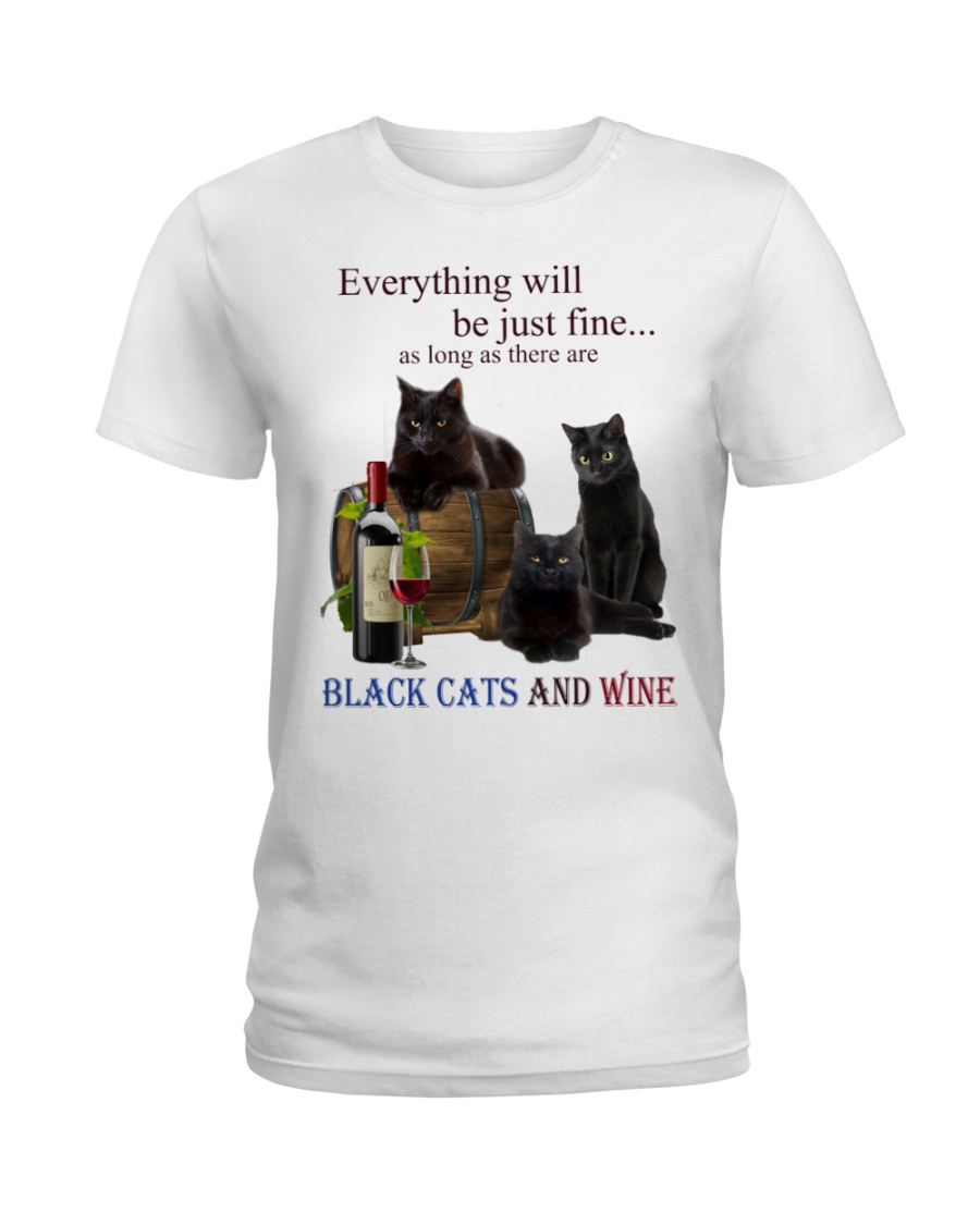Cat Everything Will Be Just Fine As Long As There Are Shirt 3