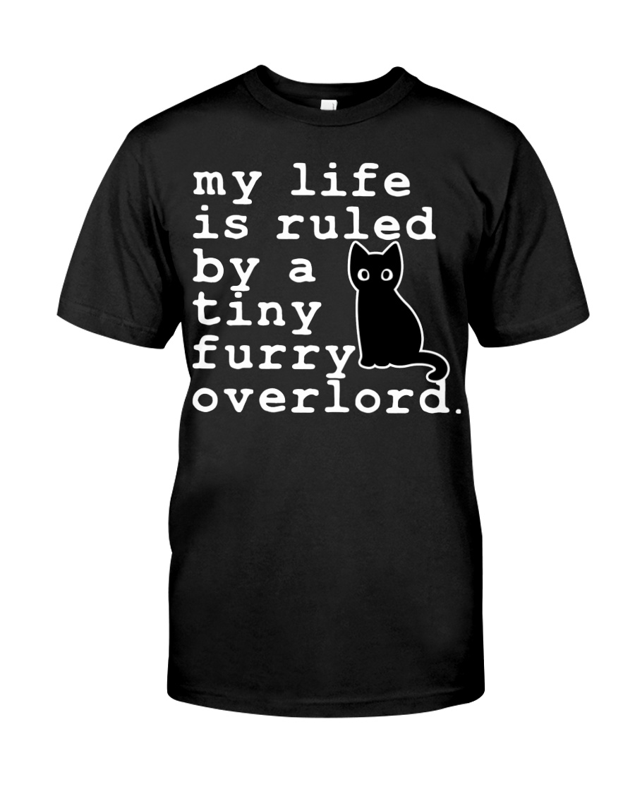 Cat My life is ruled by a tiny furry overlord Shirt 21