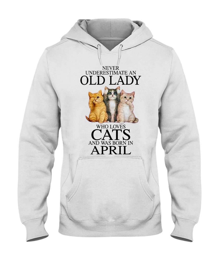 Cat Never Underestimate An Old Lady Who Loves April Shirt 4