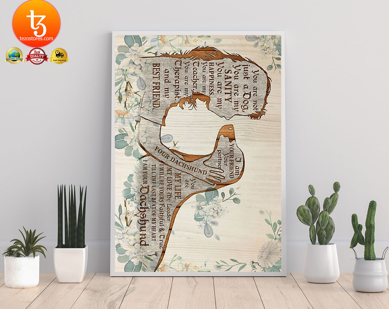 Dachshund I am your friend poster 21