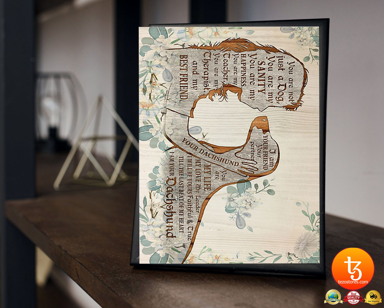 Dachshund I am your friend poster 19