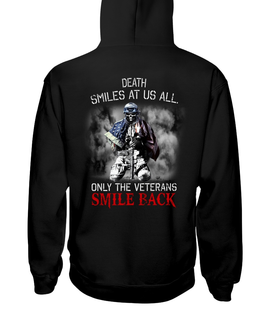 Death Smiles At Us All Only The Veterans Smile Back Shirt 25