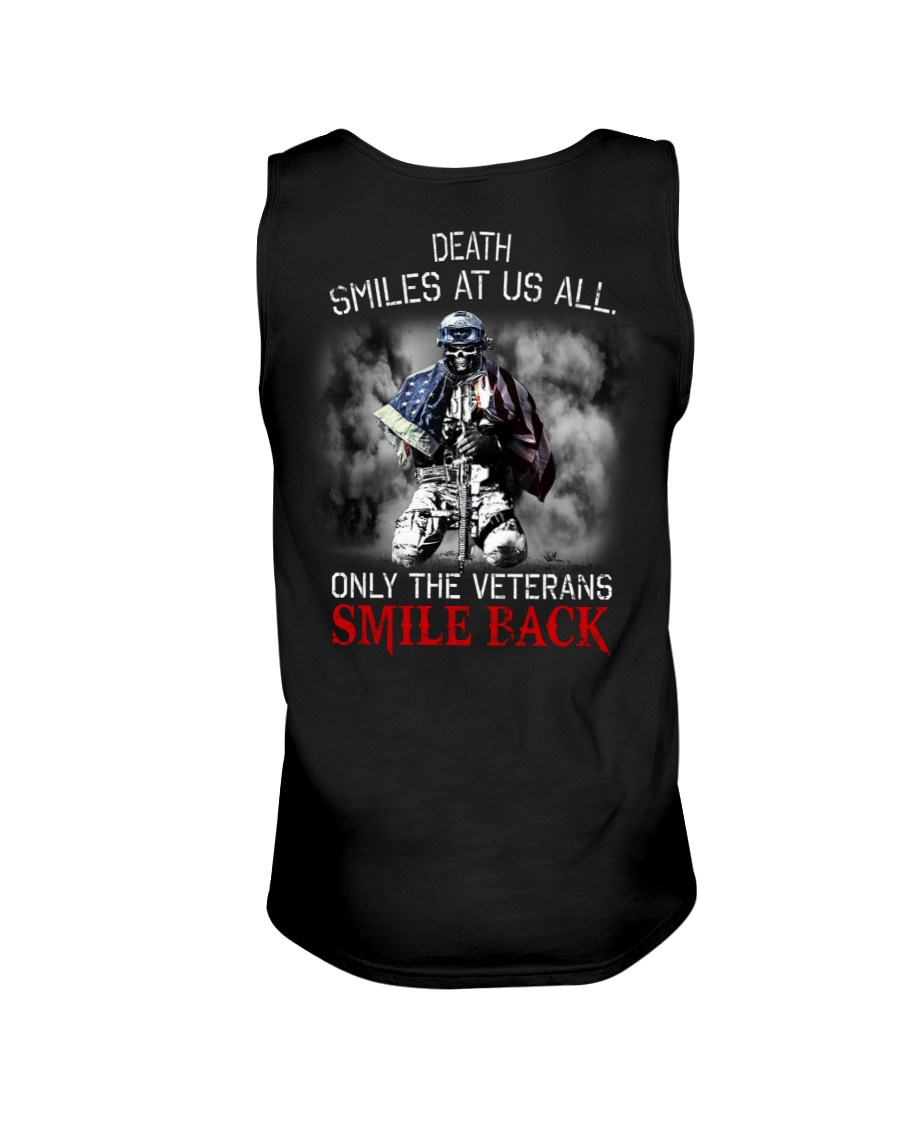 Death Smiles At Us All Only The Veterans Smile Back Shirt 19