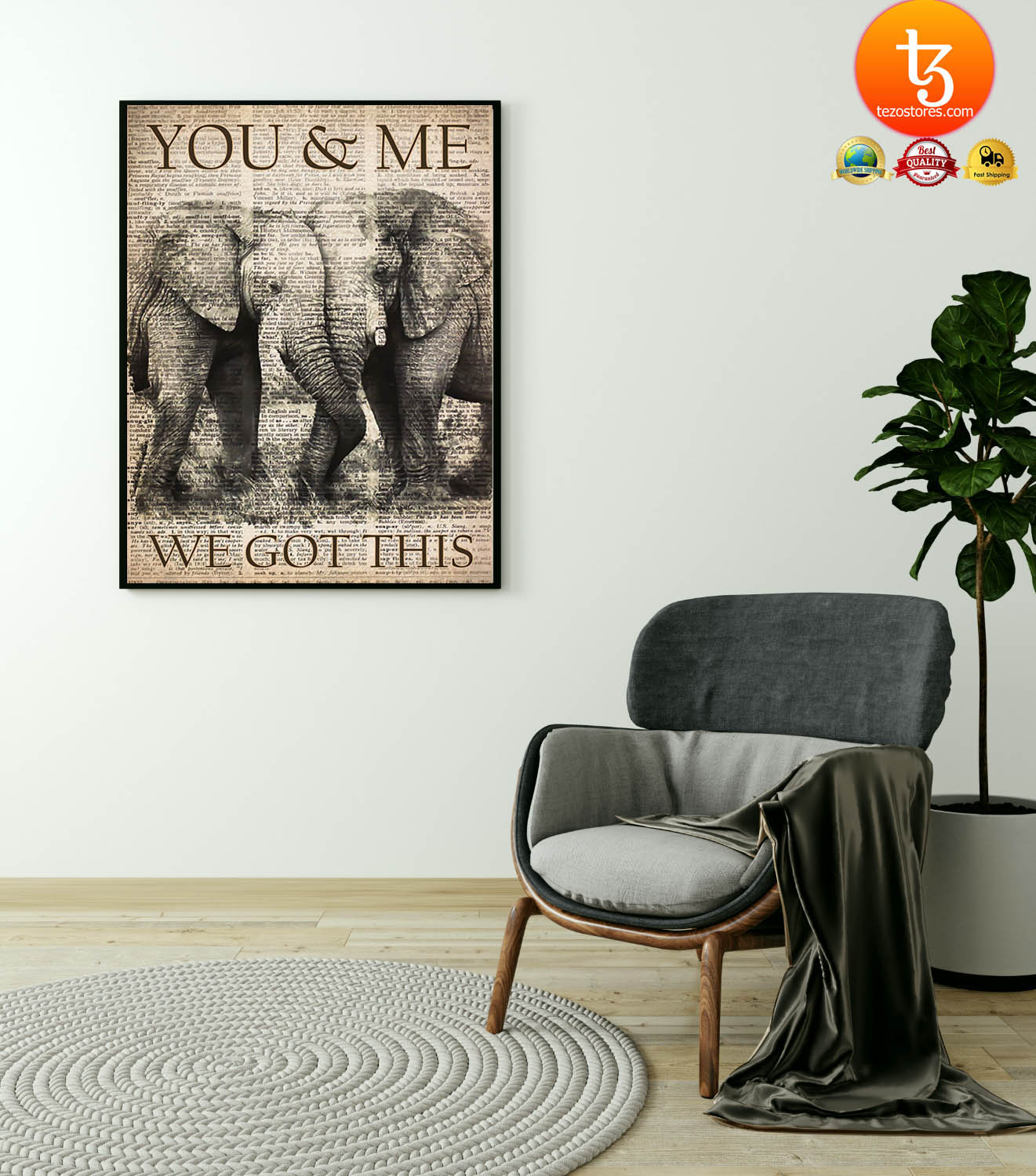 Elephant you and me we got this poster 19