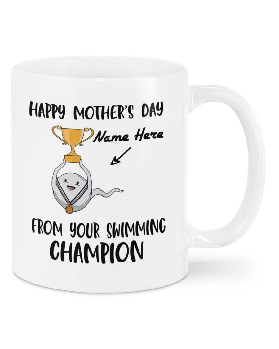 Happy mother's day from your swimming champion mug 2