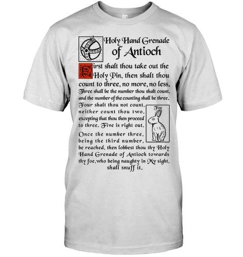 Holy Hand Grenade Of Antioch Shirt 2