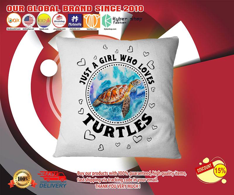 Just a girl who loves turtle pilow 4