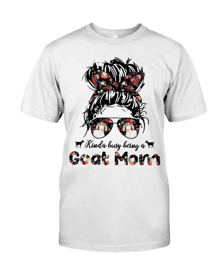 Kinda Busy Being A Goat Mom Shirt 2